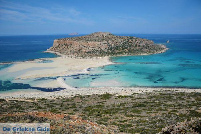 Balos strand op Kreta
